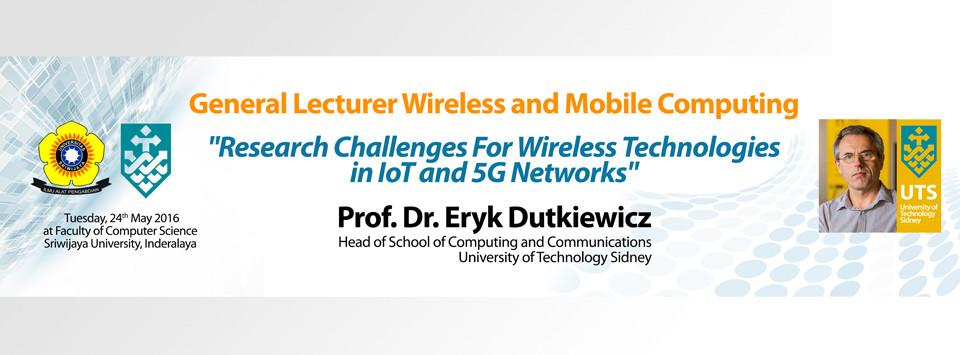 [Short Talk] Prof. Dr. Eryk Dutkiewicz